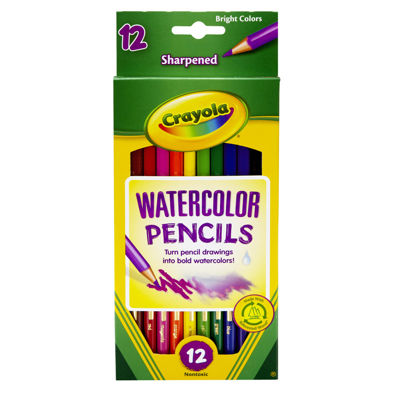 Colored Drawing Pencils Watercolor Pencils Full Length Bin4302