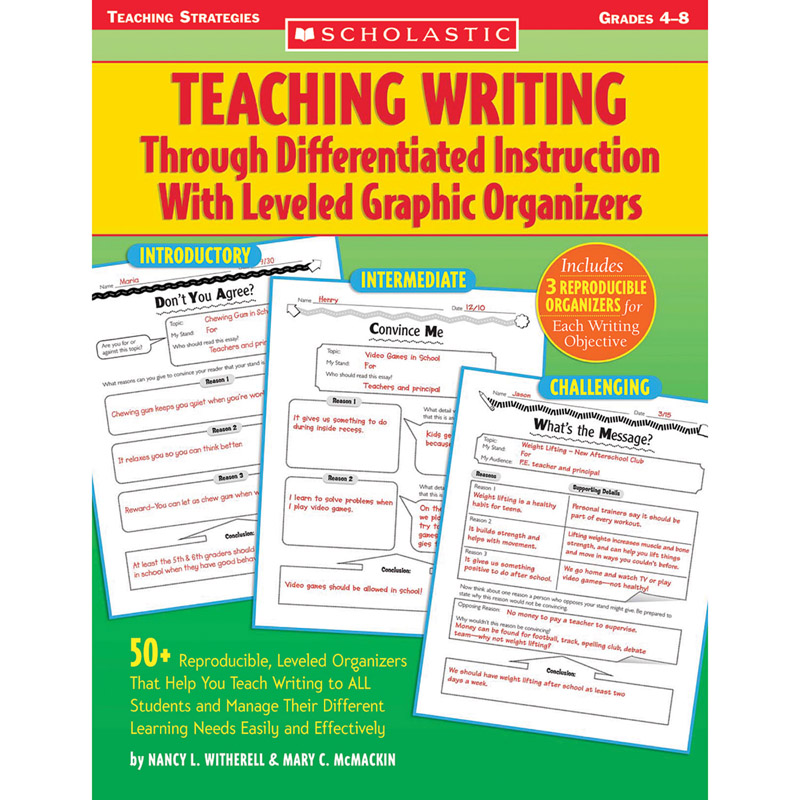 essays on differentiated instruction Free essay: introduction differentiated instruction is a succeeding teaching style teachers instruct according to a system that a student will get the best.