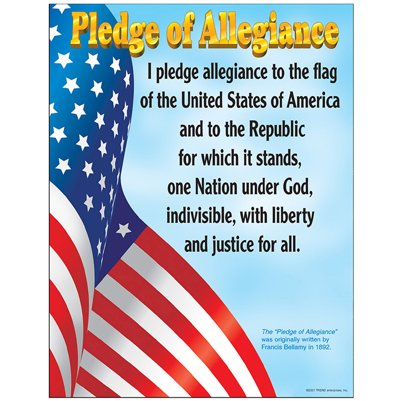 a review of the pledge of allegiance