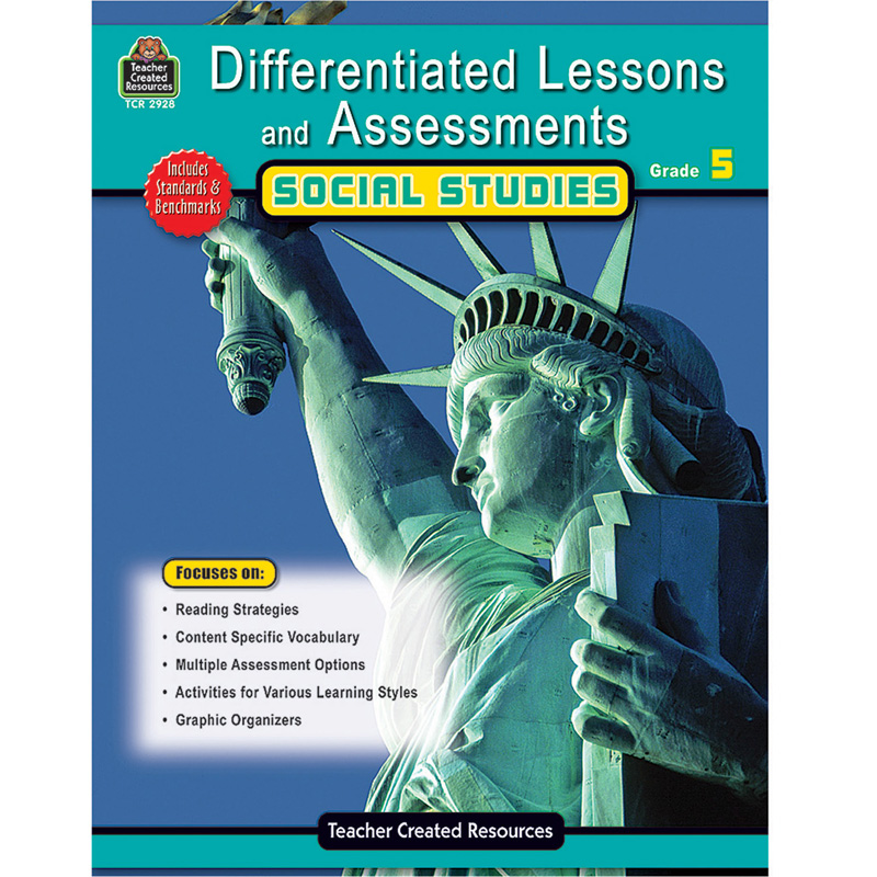 Differentiated Lessons Assessments Social Studies Grade 5