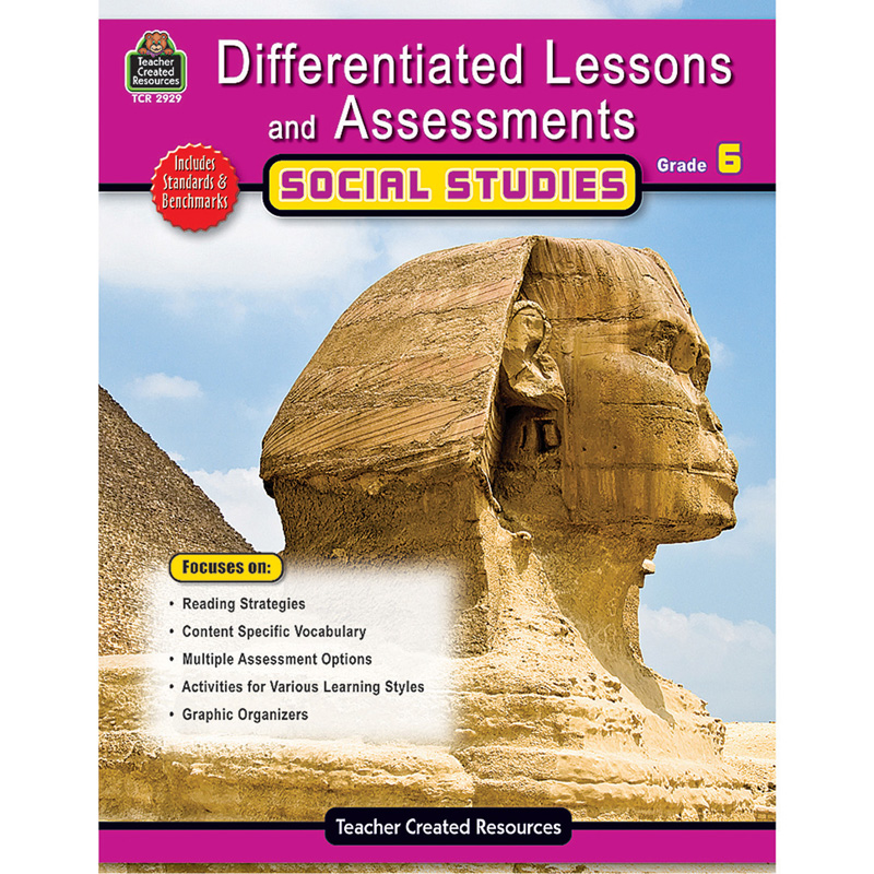 Differentiated Lessons Assessments Social Studies Grade 6