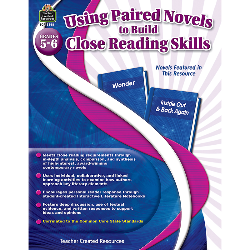 Details about GR 5-6 USING PAIRED NOVELS TO BUILD CLOSE READING SKILLS: www.ebay.com/itm/172157260060